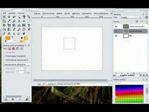 gimp tutorial dla poczatkujacych gimp ksztalty warstwy zaznacznie ep1 youtube
