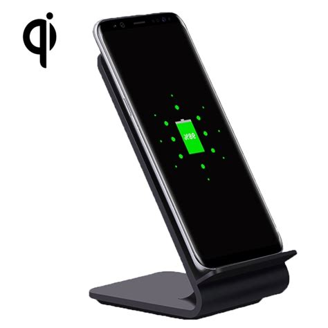 Charger Samsung A8 Yolike A8 10w Qi Wireless Standard Stand Plastic Charger