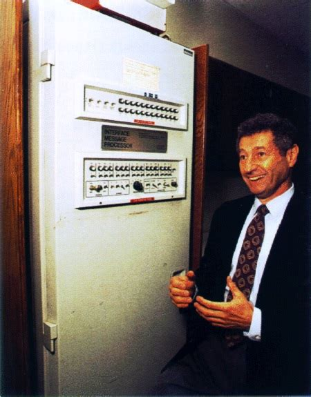 biography of leonard kleinrock 191 cu 225 l fue el primer mensaje enviado a trav 233 s de internet