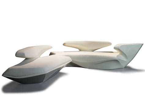 zaha hadid sofa zaha hadid array seating for poltrona frau theatre