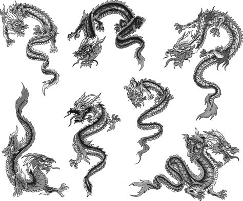 small chinese dragon tattoo small pictures to pin on