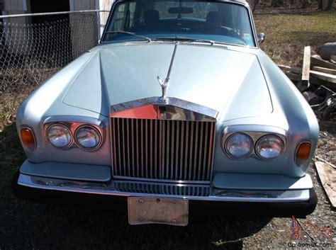 rolls royce light blue light blue rolls royce 1976