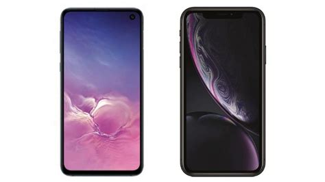 Iphone Xr Vs Samsung Galaxy S10e by Can Samsung Galaxy S10e Take On Iphone Xr In India Technology News
