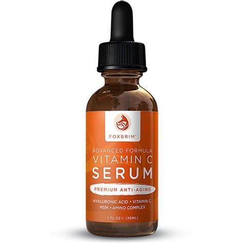 Serum Vitamin C Zivagold Foxbrim Advanced Formula Vitamin C Serum