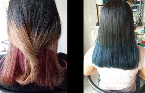 tutorial warna rambut ombre lifestyle pewarnaan rambut ombre masih favorit remaja