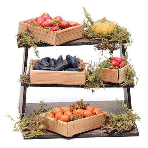 banco frutta banco di frutta e verdura presepe napoletano fai da te