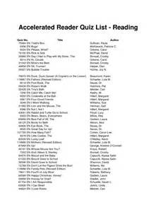 Accelerated reader answers for books motobild