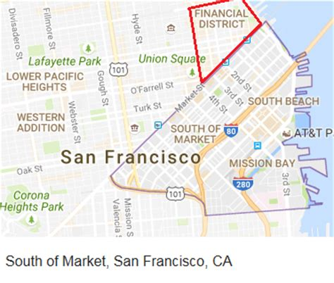 san francisco map financial district mentality collapses in san francisco office market