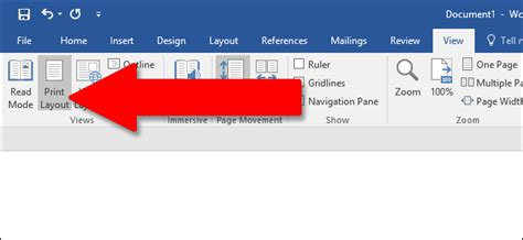 layout get view how to use rulers in microsoft word