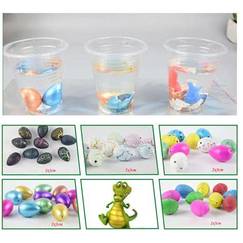 Packed Novelty Expansion Hatching Dinosaur Easter Eggs Toys Kid small children s educational color dinosaur egg