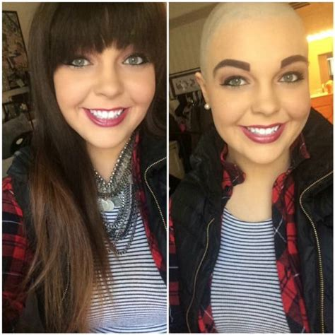 women buzz cut before and after 17 best images about bald is beautifull on pinterest