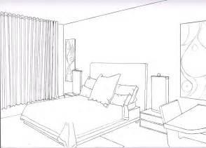 Perspective Drawing Of Bedroom Bedroom 2 Point By Liquidrice On Deviantart