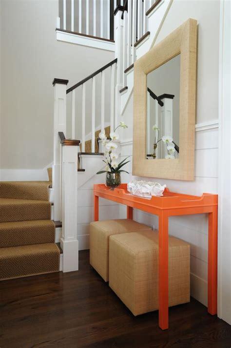 Small Foyers And Entryways Liddle Design Entrances Foyers Fenwick Console