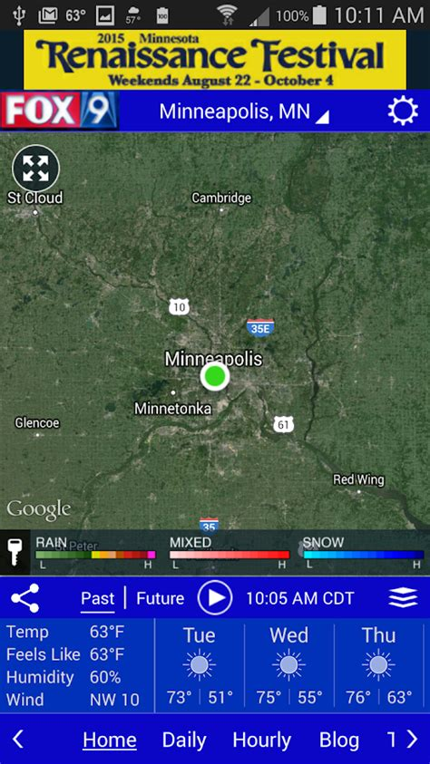 fox 9 weather radar minneapolis fox9 weather android apps on google play