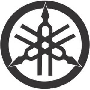 yamaha logo colouring pages