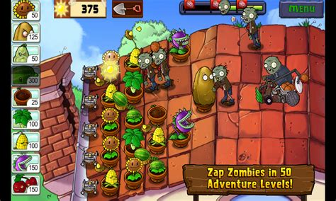 plants vs zombies adventures apk plants vs zombies 6 1 11 apk android casual