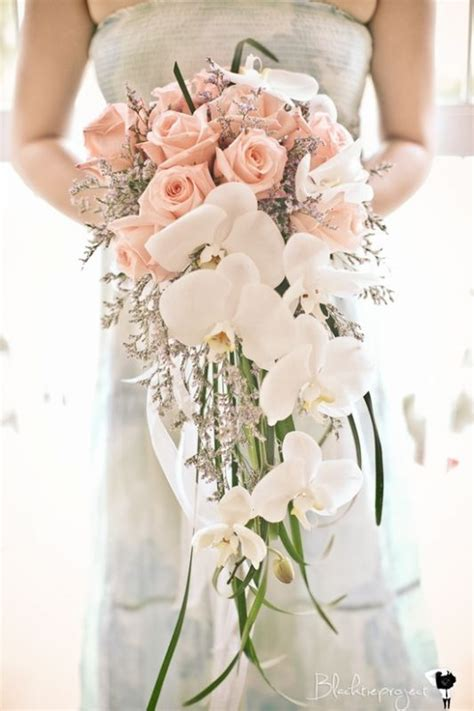 draping wedding bouquets what do you think of these cascading bouquets honestly