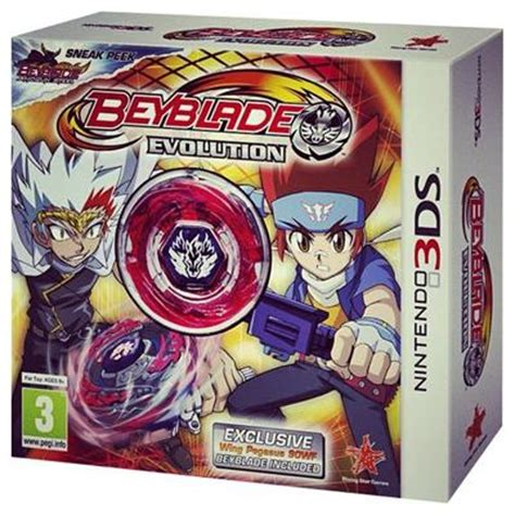 Nintendo 3ds Beyblade Evolution beyblade evolution edici 243 n pack peonza nintendo 3ds de