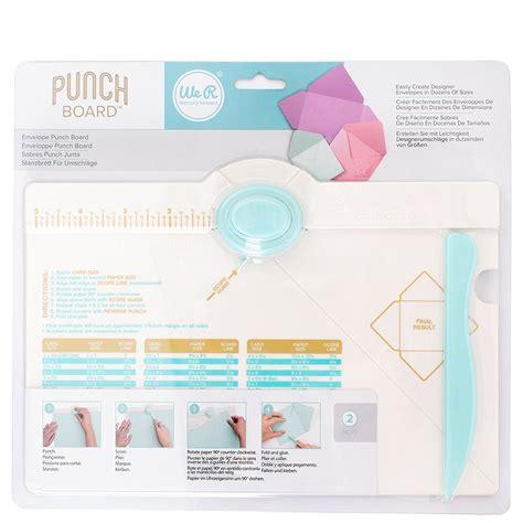 Letter Punch Board
