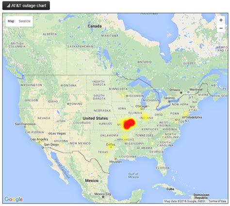 att outage map at t cellular service outage in st louis rolla and