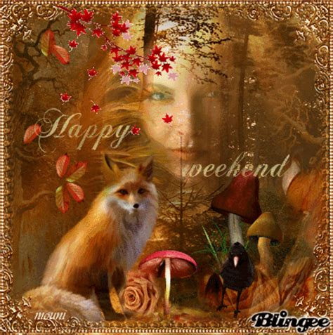 happy weekend   friends picture  blingeecom