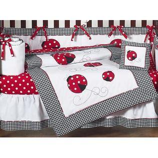 Ladybug Comforter Set by Sweet Jojo Designs Ladybug Collection 9pc Crib Bedding Set Baby Baby Bedding Baby