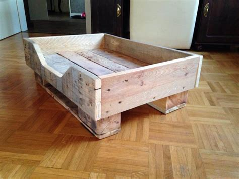 diy wooden dog bed diy pallet dog bed with flat wooden legs 99 pallets
