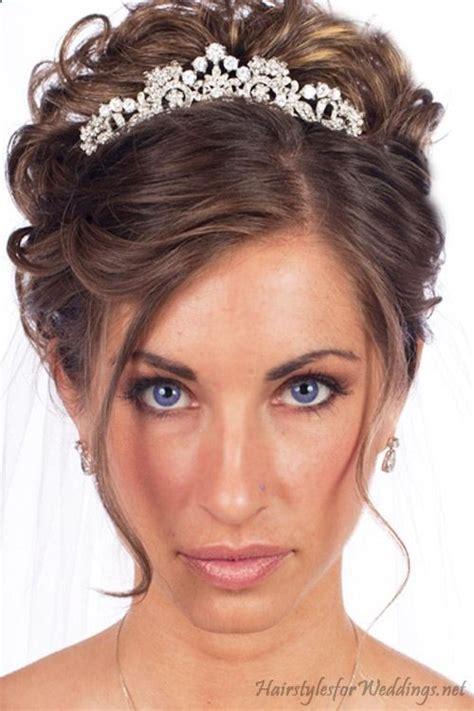 Wedding Hairstyles Tiara by Wedding Tiara Hairstyle Www Pixshark Images