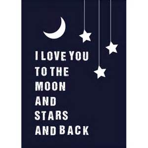 I You To The Moon And Back Baby Shower by I You To The Moon And And Back Print For