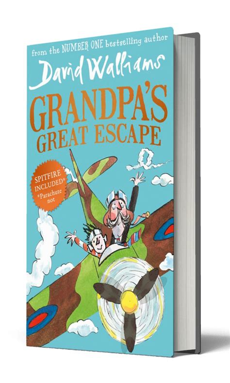 s great escape books meet the characters in david walliams new book s
