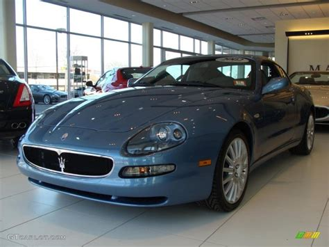 maserati light blue 2002 blue azurro light blue maserati coupe cambiocorsa