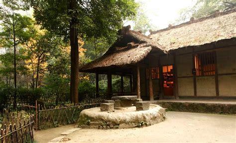 Du Fu Thatched Cottage by Du Fu S Thatched Cottage Chengdu Sichuan Travel Tour