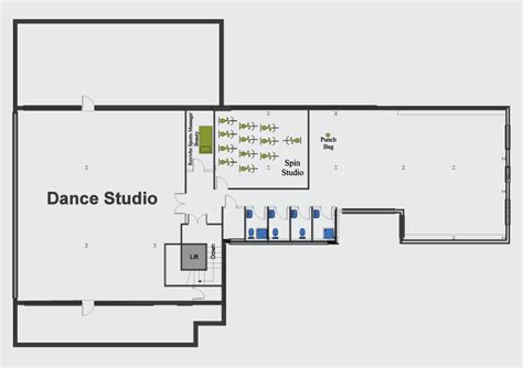dance studio floor plan oakley fitness gym plan oakleyfitness co uk