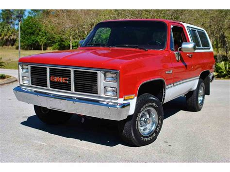 gmc jimmy 1988 1988 gmc jimmy for sale classiccars com cc 972856