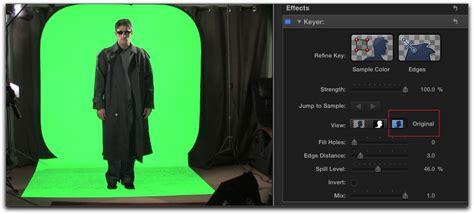 final cut pro background color final cut pro x chroma key