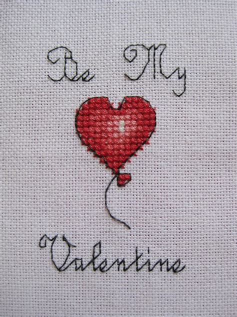 valentines day card template stitch be my cross stitch card tutorial lulabelle