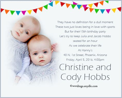 1st birthday invitation indian wording birthday invitation wording wordings and messages