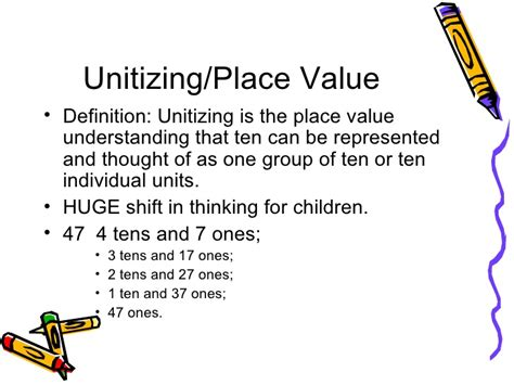 A Place Explanation Developing Number Concepts In K 2 Learners