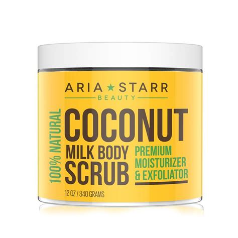 Scrub Milk Coconut premium coconut milk scrub luxurious