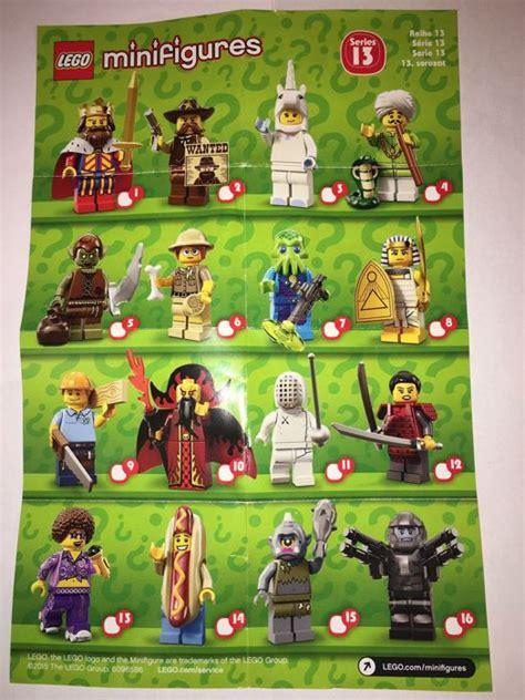 Series 13 Lego Minifigure lego minifigure serie 13 catawiki