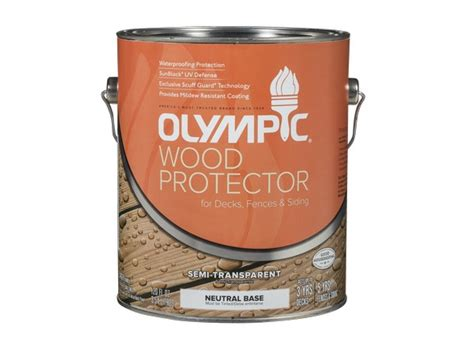 olympic wood protector semi transparent lowes wood