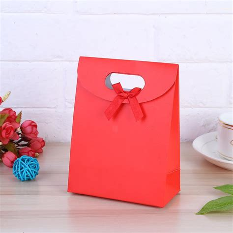 set small mediumlarge size colorful merry christmas paper bag gift bags birthday sweet