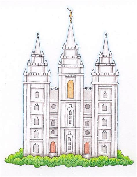 lds clipart lds temple clip susan fitch design temple i