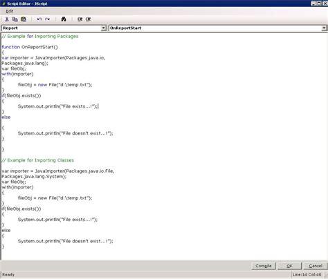 currency format script javascript release notes report designer enhancements
