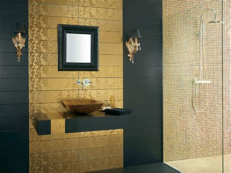 gold bathroom ideas trendy bathroom designs in gold interior decoration