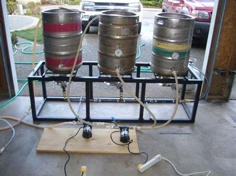 home brew system plans single tier home brewery
