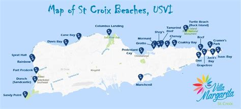 map of st croix islands best st croix beaches us island beaches
