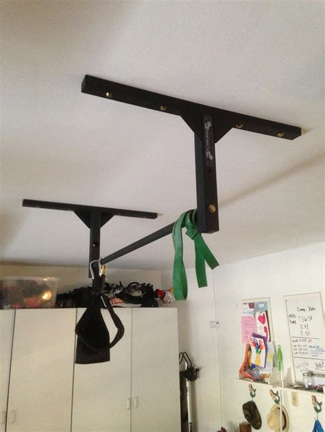 Garage Pull Up Bar Ceiling by Joist Mounted Pull Up Bar Studbar Pullup
