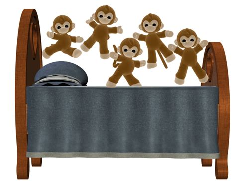 monkeys jumping in the bed monkeys jumping on the bed gif images