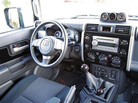 Toyota Fj Interior Toyota Fj Cruiser Interior 4x4 Road